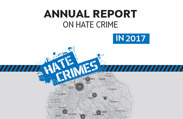 Hate crimes in the Republic of Macedonia - 2017